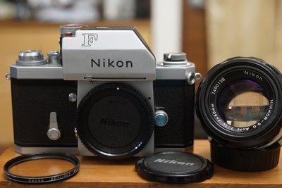 【售】漂亮 收藏級NIKON大F尼康頂級F系列的開山始祖(Photomic FTN) FM2 F3