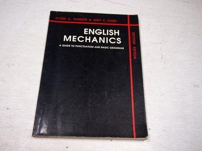 【考試院二手書】《ENGLISH MECHANICS》│CLYDE A. WARDEN│七成新(B11D63)