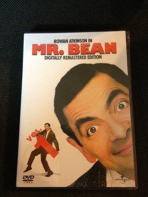 (全新絕版品)環球發行 Mr.Bean 豆豆先生影集 DVD vol.1(洲立公司貨)