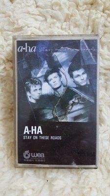 賣場罕見 絕版 A-HA 合唱團 STAY ON THESE ROADS 停留路上 精選輯 專輯 錄音帶 磁帶 卡帶 C