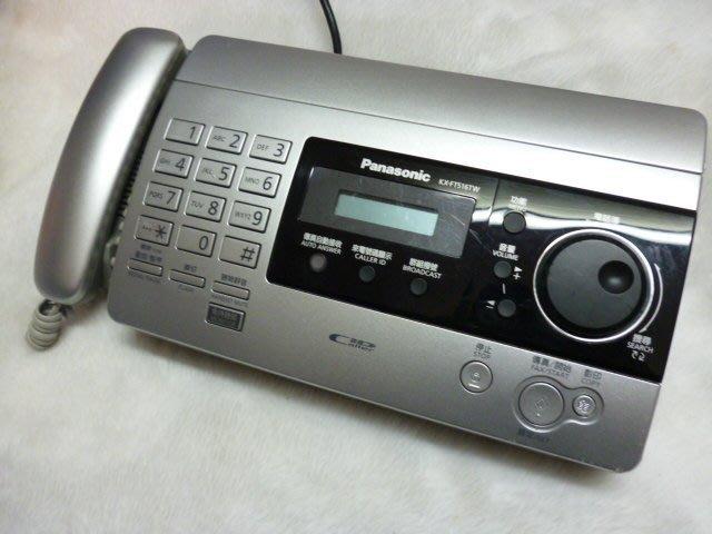 國際 Panasonic 傳真機  KX-FT506 TW (銀)  KX-FT 501 TW (黑) 【附感熱紙一卷】