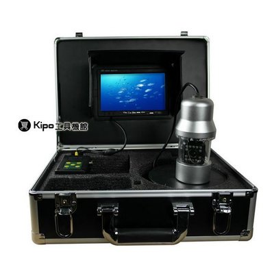 KIPO-旋轉水下攝影機/可視釣魚器/探魚/潛水高清監控攝像頭/水產養殖/20米/50米100米可選配OMB001107A