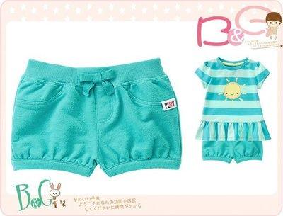 【B& G童裝】正品美國進口GYMBOREE Pull-On Bubble Shorts 綠色泡泡短褲12-18-24m