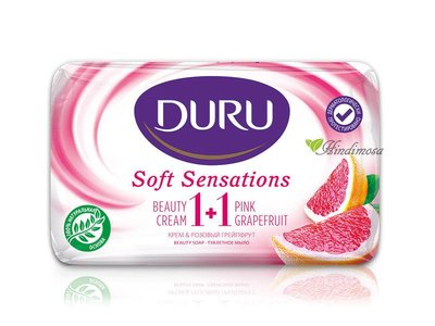 土耳其 Duru 紅葡萄柚乳霜保濕美膚皂 Soft Sensations Beauty Cream Soap 80g