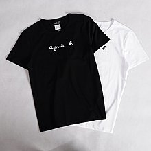 Melia 米莉亞代購 agnes.b 日本店面代購 東京大阪 萬年不敗LOGO款 兩色 日系男裝 時尚男款T恤 促銷