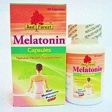 三折美國紅樹林培力康睡寧褪黑激素 Red Forest Melatonin 3mg 60粒