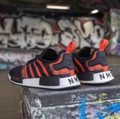 【路克球鞋小天地】愛迪達Adidas Original NMD R1 黑紅 紅黑 渲染 黑尾 限量 男女鞋 G27917