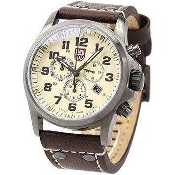 Luminox 雷明時 手錶 FIELD SPORTS DAY DATE 45mm 氚氣 三眼計時 海豹特戰隊 軍錶 1947