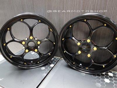 【貝爾摩托車精品店】 Rmini 鍛造輪框 鍛框 前 後 輪框  三色可選 預訂 偉士牌 GTS300 GTS 300