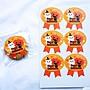 Amy烘焙網:一張6貼兩款選/萬聖節裝飾貼紙/萬聖節包裝封口貼/萬聖節貼紙/萬聖節包裝