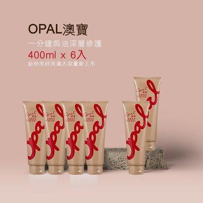 [Opal澳寶]一分鐘深層護髮焗油400ml(大瓶裝)6入組