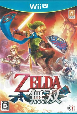 【二手遊戲】WiiU Wii U 薩爾達無雙 HYRULE WARRIORS 日文版【台中恐龍電玩】