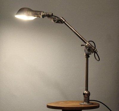 1930年 美國 Woodward 經典 工作燈 檯燈