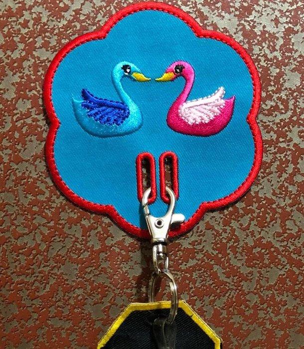 EmbroFami臂章家族:鑰匙掛飾 鑰匙的家 keyhome 4個  優惠中, 方便找到鑰匙哦!