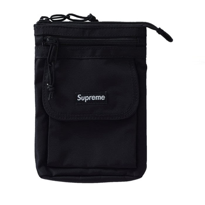 【QUEST】SUPREME 47TH SHOULDER BAG 小包  肩包 2019FW BLACK FW19B11