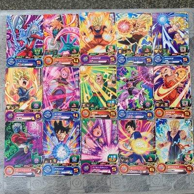 七龍珠英雄 第二彈 一星 普通卡片 全套 共計30張 如圖所示
