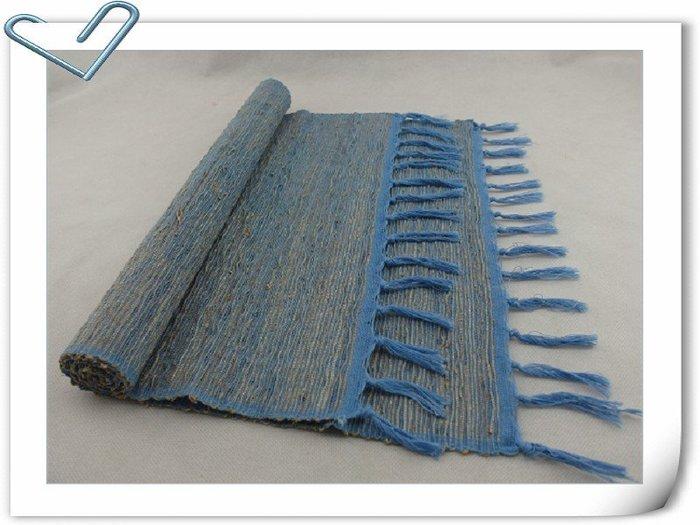 香草 桌墊 35~90 藍色 草編桌巾 藤編桌巾 天然  編織 獨特香氣 峇里島風 餐廳
