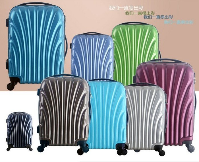 超輕ABS拉桿箱 TSA海關鎖旅行箱 20寸行李箱28寸大箱包