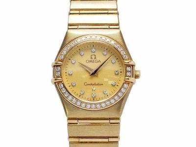 【JDPS 久大御典品 / 名錶專賣】 OMEGA亞米茄錶 Constellation 星座系列 石英 編號F30072