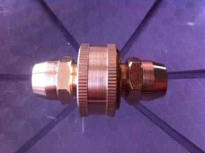 全銅3分花園水管 接頭9mm軟管快接洗車澆花水槍接頭