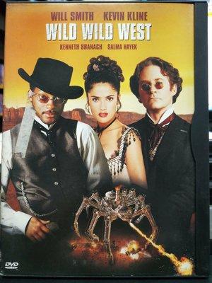 挖寶二手片-I35-001-正版DVD-電影【飆風戰警】-威爾史密斯 凱文克萊 肯尼斯布萊納 莎瑪海耶克(直購價)