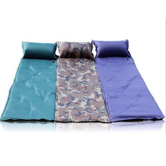 【附發票】9點 5cm加厚 自動充氣墊 自動充氣床墊 露營睡墊 送背袋 20633