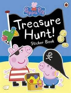 *小貝比的家*PEPPA PIG: TREASURE HUNT! /貼紙書