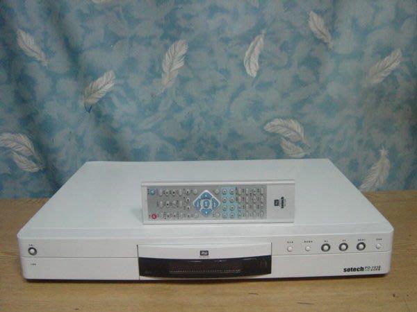 Y【小劉二手家電】SOTECH  DVD錄放影機,附原廠搖控器,壞機可修/抵!