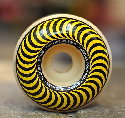 SPITFIRE - FORMULA FOUR CLASSIC WHEELS  55MM 99A 滑板 硬輪