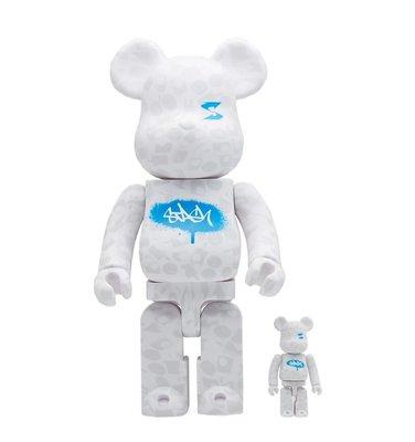 全新 Bearbrick 400% + 100% PLUS Exclusive Stash White