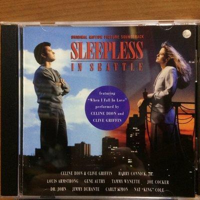 歐版CD電影原聲帶《西雅圖夜未眠》 /Sleepless in Seattle全新未拆