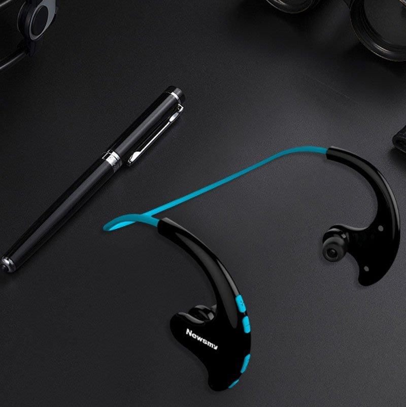 5Cgo【發燒友】紐曼Q10 BT耳機運動mp3插卡跑步雙耳耳塞入耳掛耳頭戴式 含稅