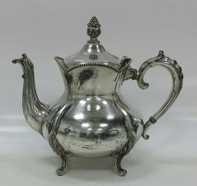 429美國鍍銀壺 Vintage Silverplate Ornate teapot