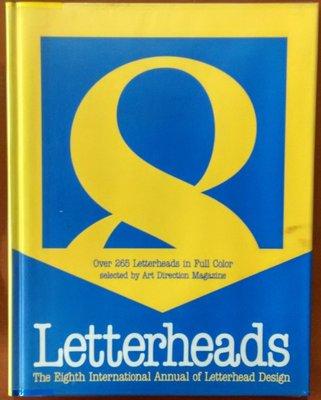 【探索書店524】外文書 平面設計 信封設計 Letterheads/8 Art Direction Book 2106