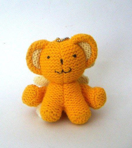 陽光一品~庫洛魔法使-小可編織款娃娃--收藏品