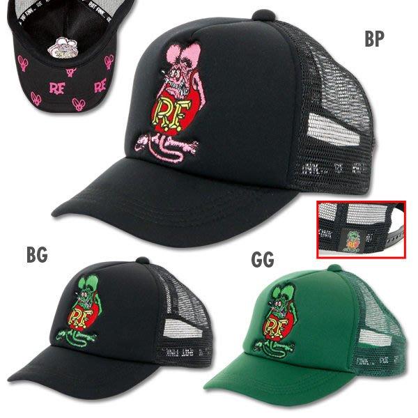 (I LOVE樂多)Rat Fink Embroidery Cap遮陽網帽