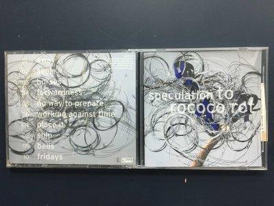 【午夜點唱機 CD 】speculation-rococo rot/二手CD銅板起標613/13