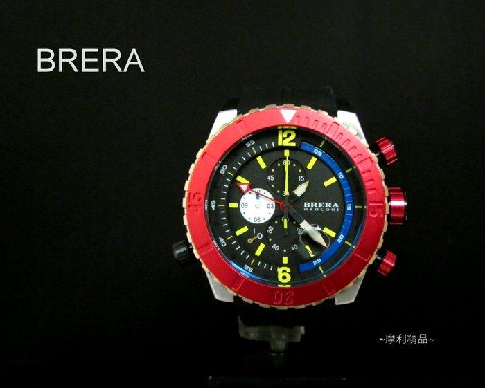 【摩利精品】BRERA OROLOGI 計時錶 *真品* 低價特賣中