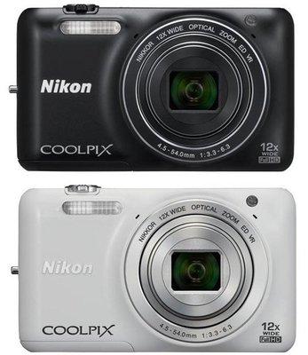 NIKON 尼康 相機 S6600 自拍 翻轉 螢幕 無線WIFI 數位相機 1600萬像素
