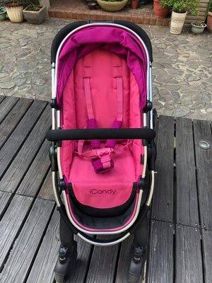 【二手】英國iCandy Peach 3嬰兒推車手推車