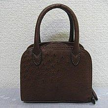 天然高級駝鳥皮真品100%小手提包. H2892408812878.1800.B161201
