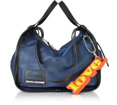 ❖客來兒美國集貨❖ MARC JACOBS  皮革包邊 尼龍 提/ 揹 雙設計Nylon Sport Tote Bag