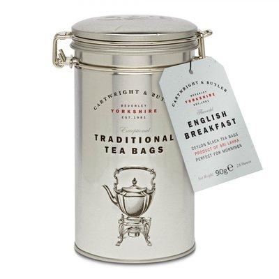 [要預購] 英國代購 英國CARTWRIGHT & BUTLER 鐵罐裝英式早餐茶 75g
