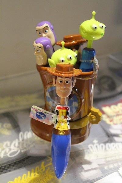 (I LOVE樂多)日本進口 玩具總動員WOODY 胡迪 三眼怪 巴斯光年 原子筆 送禮自用兩相宜