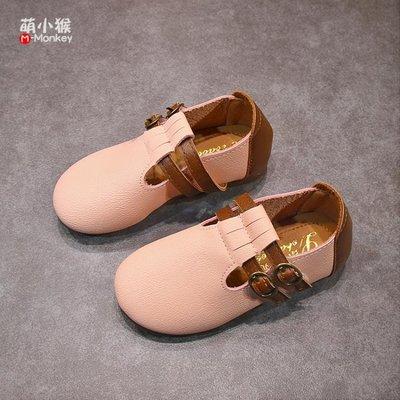 【蘑菇小隊】新年鉅惠春季新款兒童軟底小皮鞋男女童英倫風休閒單鞋小女孩公主鞋潮-MG18791