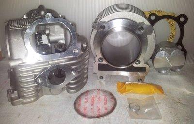 【阿鎧汽缸】勁戰 BWS GTR125改59MM汽缸組+19 21缸頭