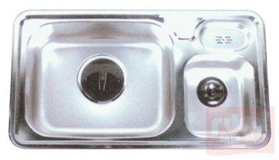 【路德廚衛】ENZIK sink韓國不鏽鋼水槽- NIS 870 不鏽鋼雙水槽 歡迎來電詢問!!