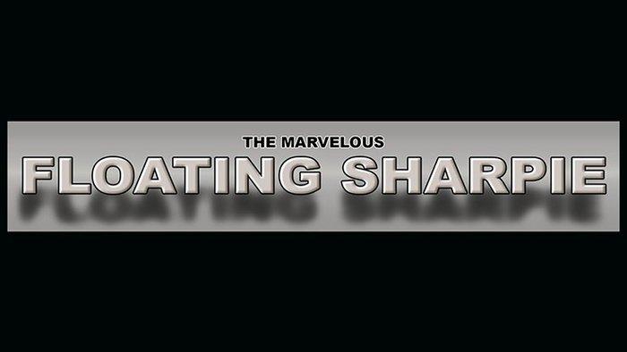 【天天魔法】【S1302】正宗原廠~奇妙的浮動Sharpie筆~Marvelous Floating Sharpie