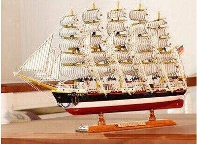 木質帆船模型擺件 地中海仿真實木船裝飾 一帆風順工藝船 實木打造 環保工藝 送禮佳品 超值