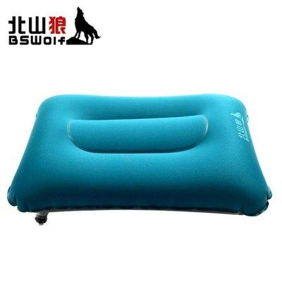 方形枕頭旅行吹氣枕充氣枕便攜飛機午休枕頭